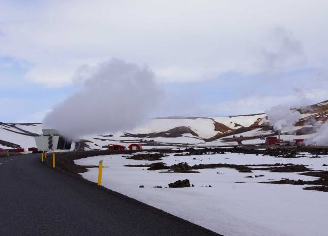 Hier entsteht die Geothermie Islands