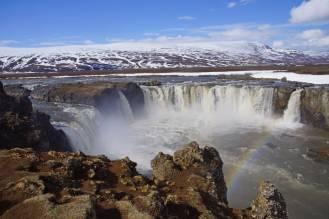 Goðafoss auf dem weg von Akureyri nach Myvatn