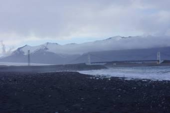 Meerzugang zum Gletschersee Jökulsárlón