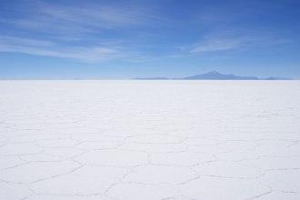 Die Salzwüste Boloiviens