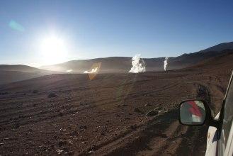 Sonnenaufgang in der Atacamawüste