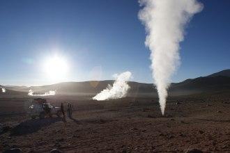 Morgens 5 Uhr in der Atacamawünste